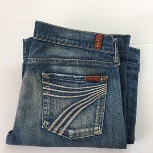 7 for all mankind Dojo Jeans, 29 x 31